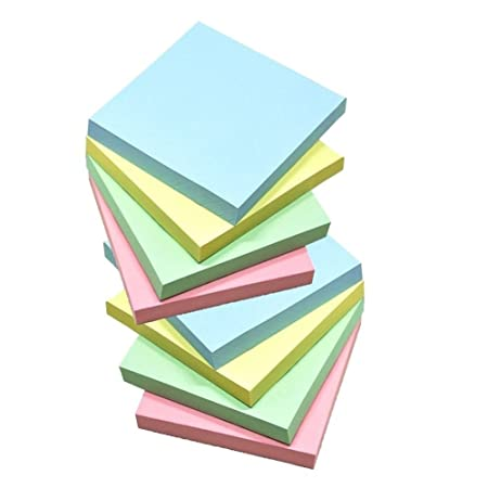 Sticky Notes, Memo Self-Stick 8 Pads/Pack