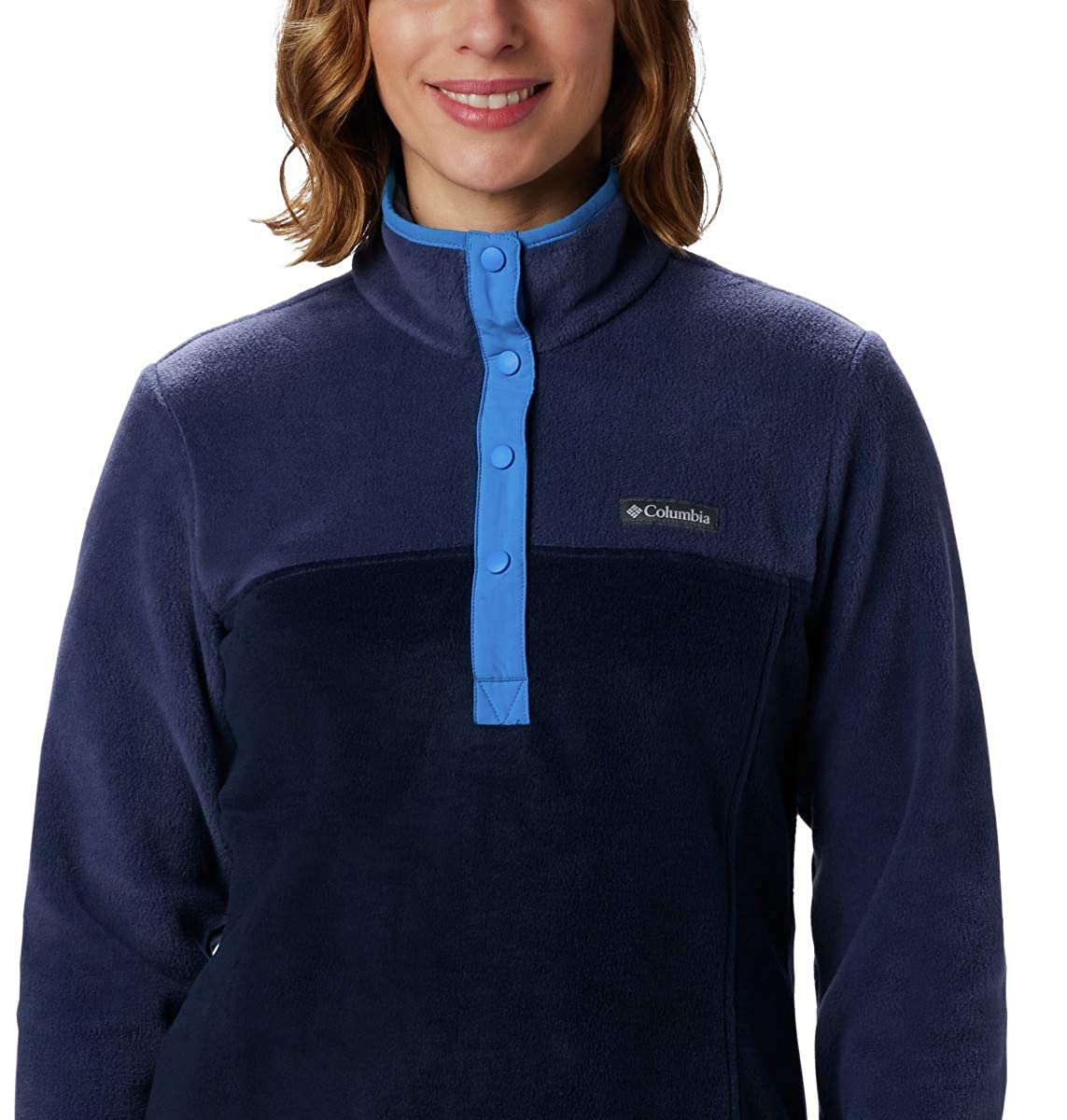Columbia Womens Benton Springs 1//2 Snap Pullover Pullover Sweater