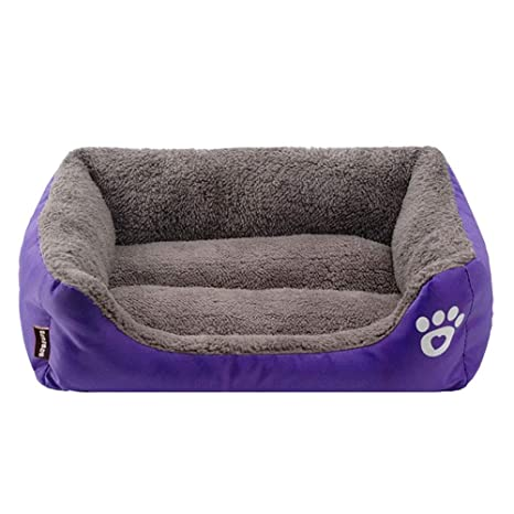 Amazon.com: ZCYCY Pet Bed, Super Soft Pet Bed Non Slip ...