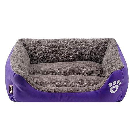Amazon.com: ZCYCY Pet Bed, Super Soft Pet Bed Non Slip ...