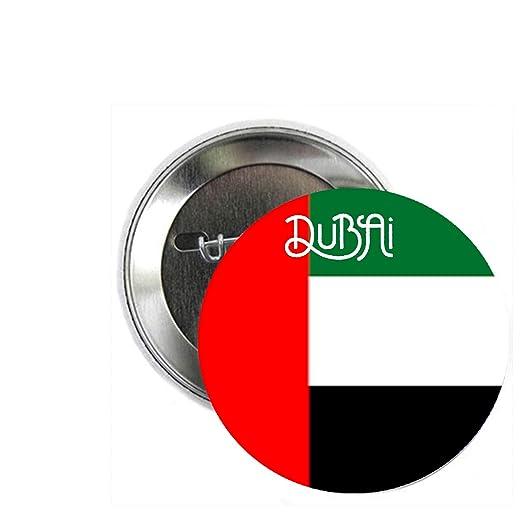 Amazon Com Dubai Country Flag 1 25 Pinback Button Pin