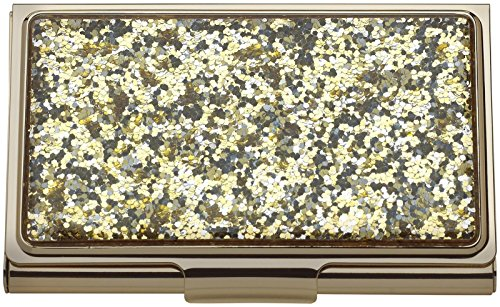 (Kate Spade New York Simply Sparkling Card Holder, Gold)