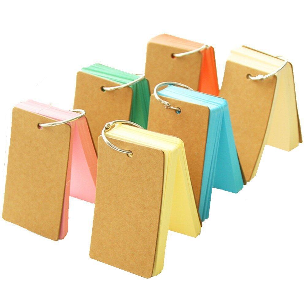 Nikgic Mini Cuaderno Libreta pr/áctica Papel de bolsillo Almohadillas de mensajes Diario Tiny Memo Blanca