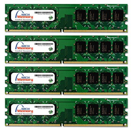 Arch Memory 8 GB (4 x 2 GB) 240-Pin DDR2 UDIMM RAM for Dell OptiPlex 960 MT (Mini Tower)