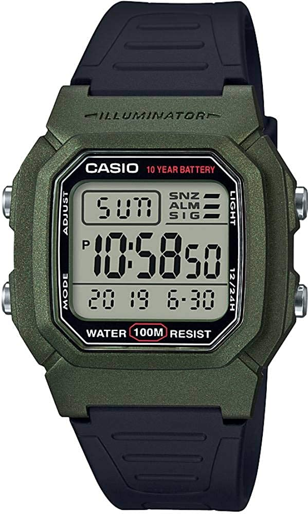 Casio W-800HM-3A Standard Digital Men's Watch
