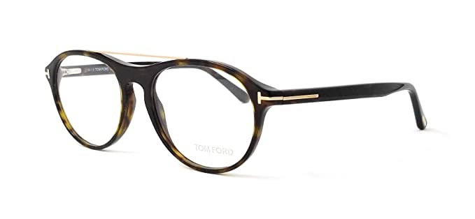 c122472cc66 Image Unavailable. Image not available for. Color  Tom Ford TF 5411 V Eyeglasses  052 Dark Havana-Gold ...