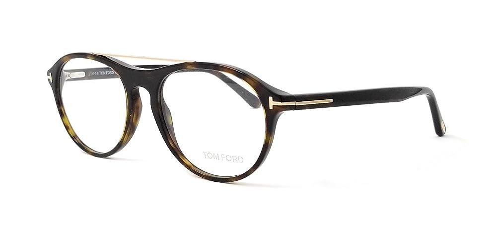 16cabb9771ed Tom Ford TF 5411 V Eyeglasses 052 Dark Havana-Gold Clear Lens 53 mm
