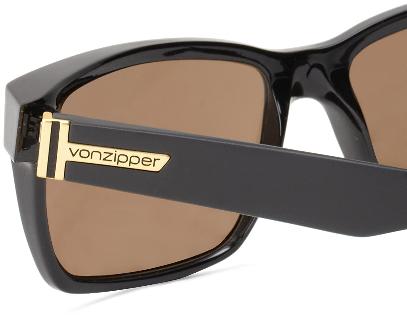 1078133546b Amazon.com  VonZipper Elmore Square Sunglasses