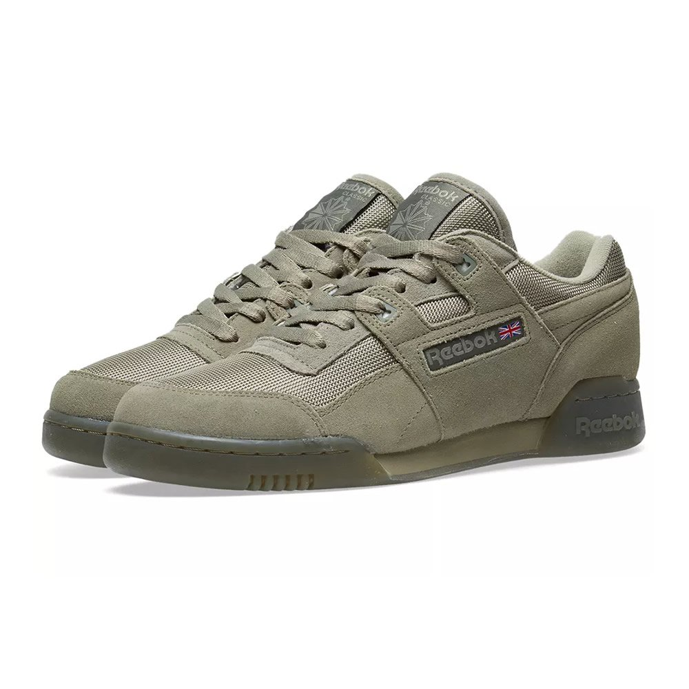 5b9b41bbe1e10 Reebok Workout Plus TN - Khaki Hunter Green -UK 6 EU 39  Amazon.co.uk  Shoes    Bags