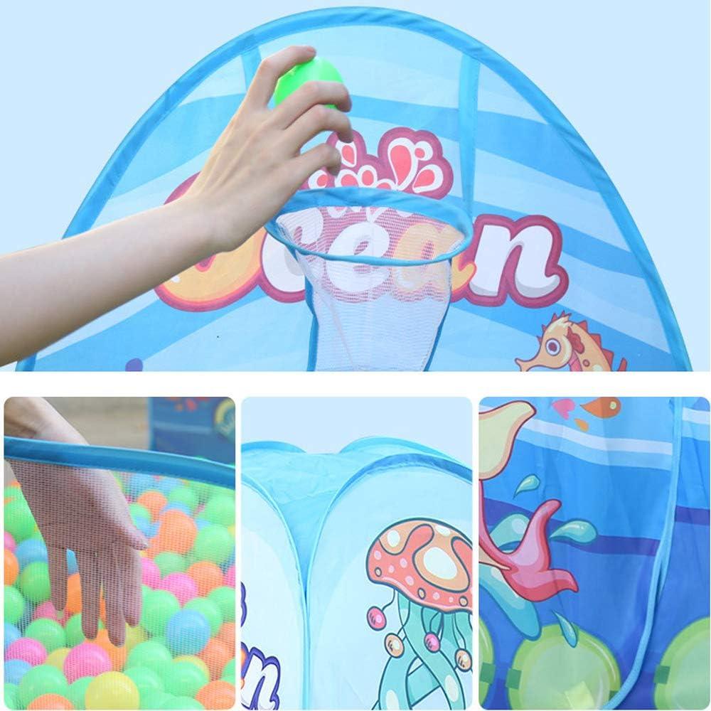 LAL6 Kids Tent Indoor Ragazzi e Ragazze Game House Outdoor Grass Bambini Tunnel Ball Pool Toy Set di Tre Pezzi