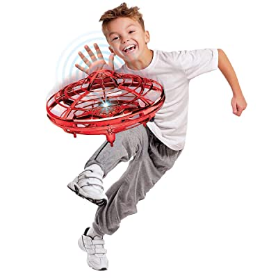 Hover Star Motion Controlled UFO, Red: Sports & Outdoors