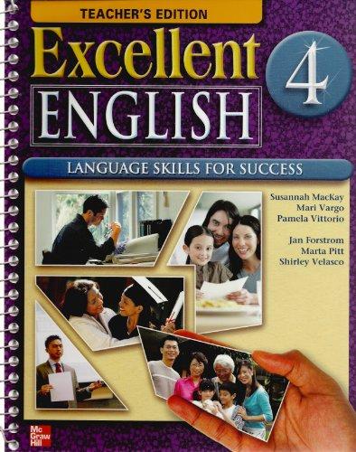 Excellent English 4 Teacher's Edition