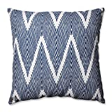 Pillow Perfect Bali Floor Pillow, 24.5-Inch, Navy