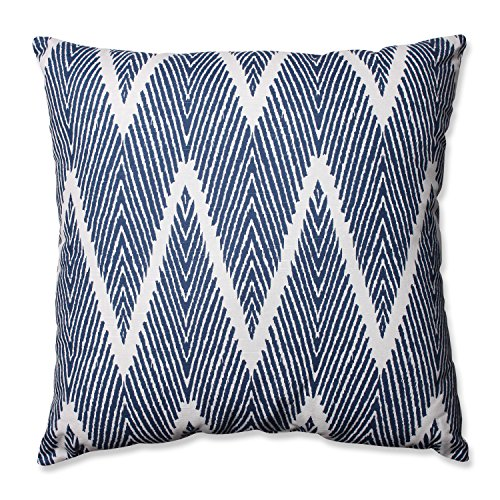 Pillow Perfect Bali Floor Pillow, 24.5-Inch, Navy eHouseholds.com