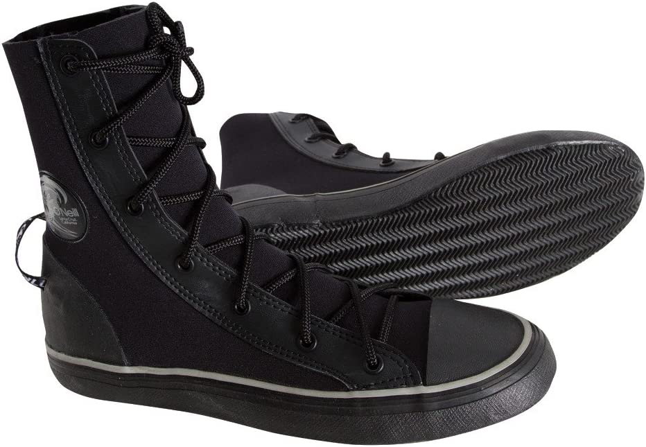 ONeill Wetsuits Mens Freaksneak 3 mm Hi-Top Boot