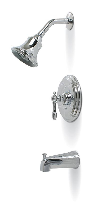 Premier 120353 Charlestown Single Handle Tub U0026 Shower Faucet, Chrome