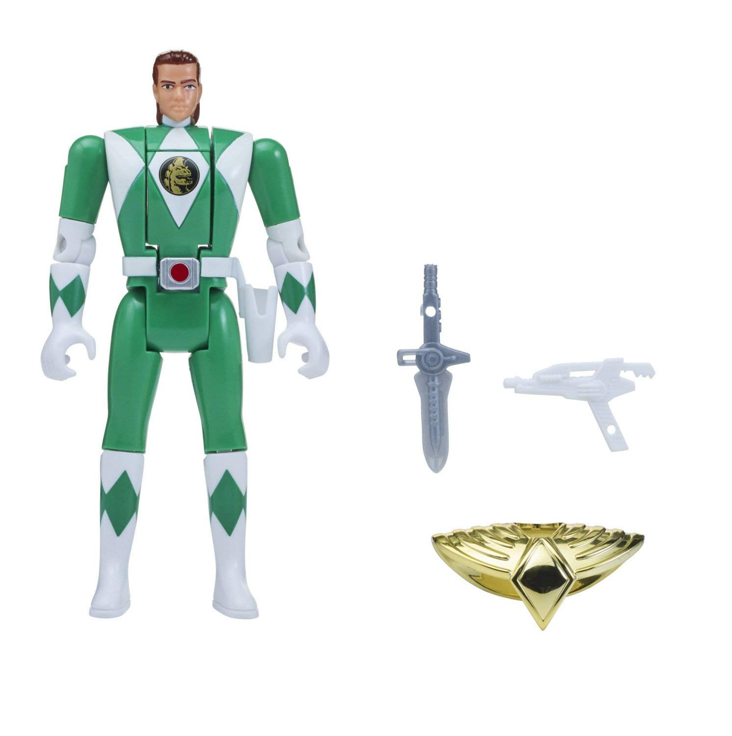 Power Rangers Auto Mighty Morphin Action Figure, Tommy Morphin Action Figure