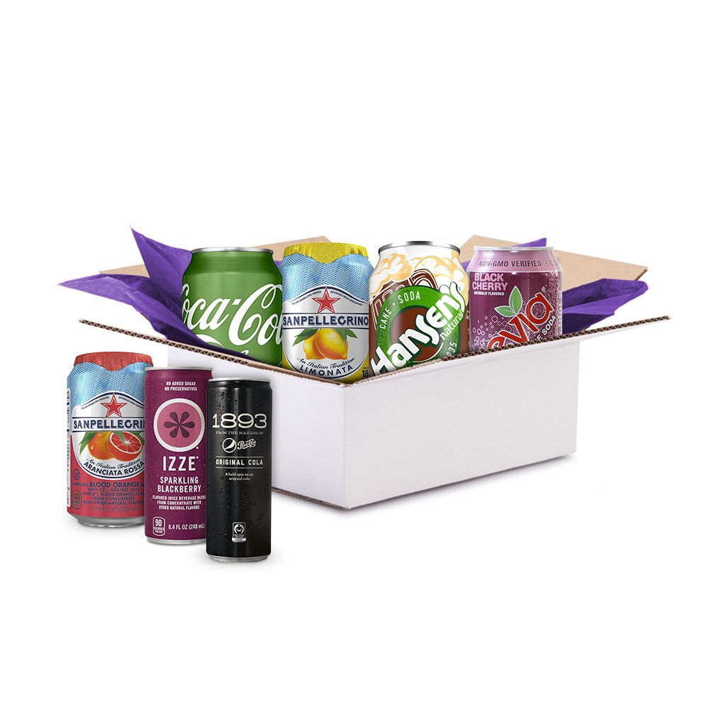 FREE Sparkling Soda Sample Box...