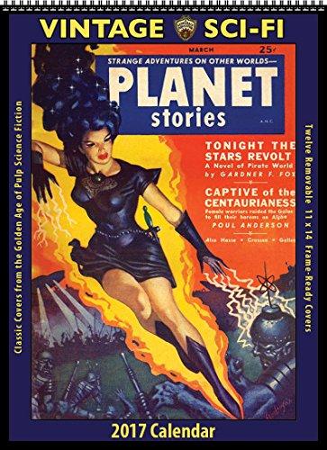 2017 Vintage Sci-Fi Calendar (Asgard Press compare prices)