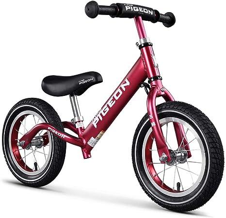 SUPER DADY Bicicleta de Equilibrio niños, Manillar y Asiento ...
