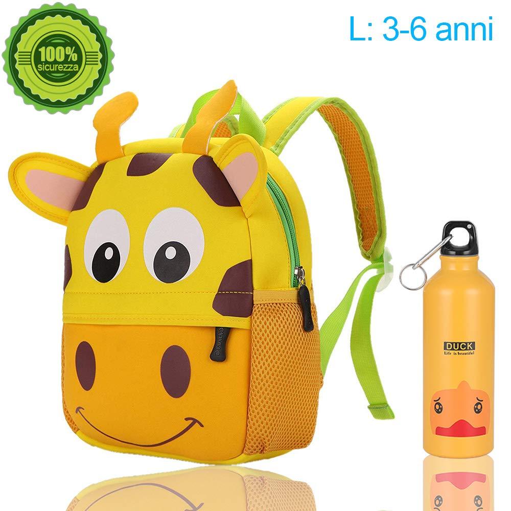 2aa3640998 Zaino scuola elementari per animale bambini bambina, Zaino asilo per  ragazzi ragazze & Con bollitore