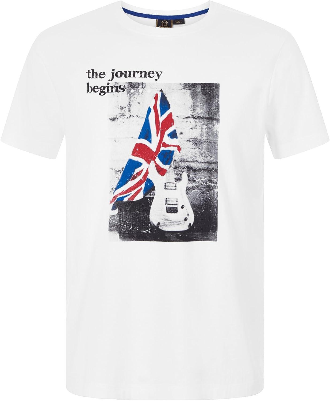 Merc of London Solway Camiseta, Blanco (White), XXL para Hombre: Amazon.es: Ropa y accesorios