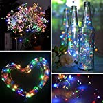 XERGY 10 Meter 100 LED's Fairy Decoration Stary String- 2 M USB Powered (3 Copper Wires, Premium Durable Quality) Multi Color Christmas NYE Decoration Lights Festival Rice Light