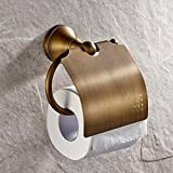 LightInTheBox Antique Bathroom Accessories Brass Toilet Roller Paper Holder Lavatory Accessories Wall maounted