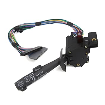 Sourcingmap - Palanca de control de crucero brazo del limpiaparabrisas Interruptor de los intermitentes para coche: Amazon.es: Coche y moto