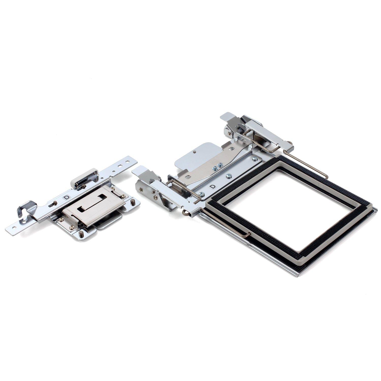 Stickfl/äche 100 x 100 mm Brother Klemm-Rahmen Set M f/ür PR 1050X