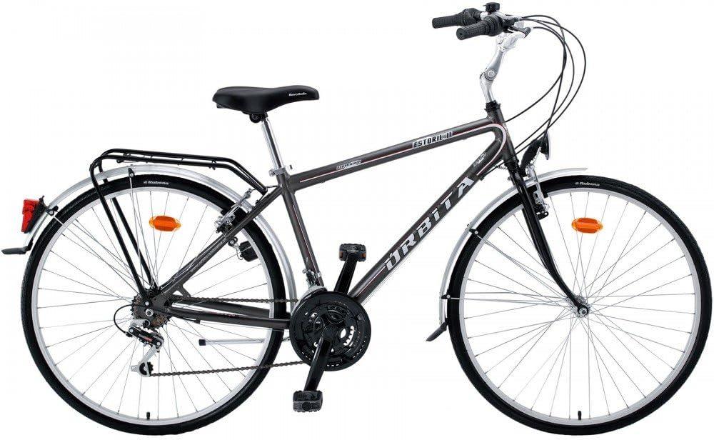 Bicicleta Urbana Orbita Estoril II H28 18v: Amazon.es: Deportes y ...