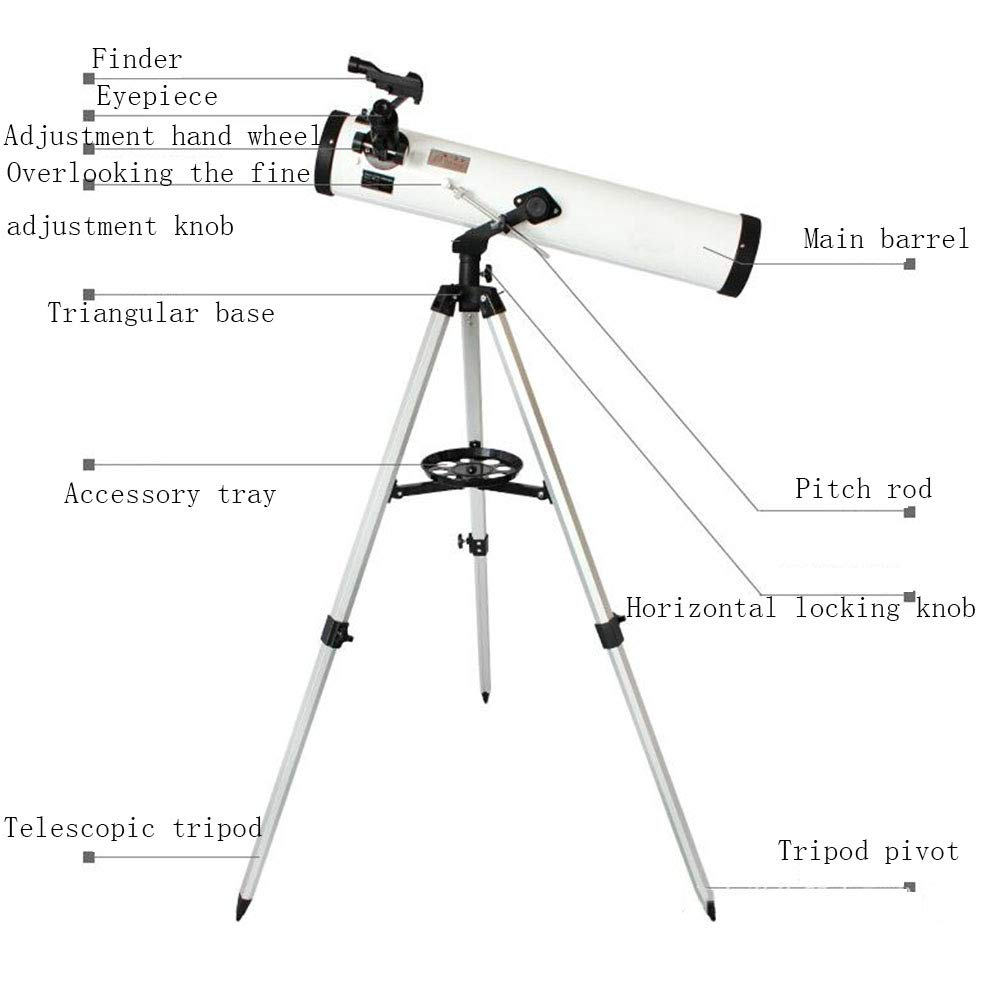 TJSCY Telescope, High-Definition Low-Light Night Vision Star-Viewing Telescope, Suitable for Children, Beginners, Outdoor, Gifts by TJSCY