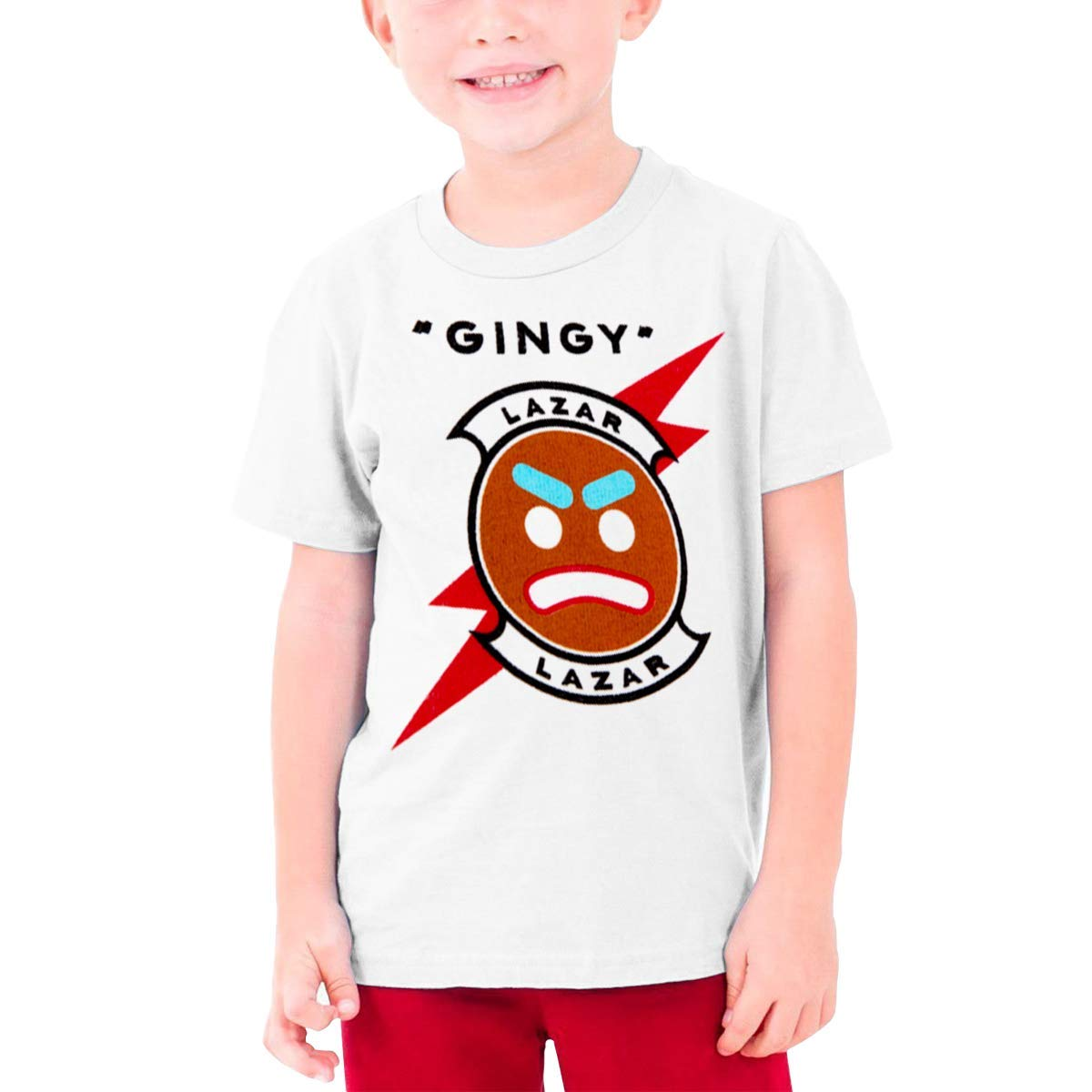 Lazarbeam Youth Short Sleeve T-Shirt For Kids