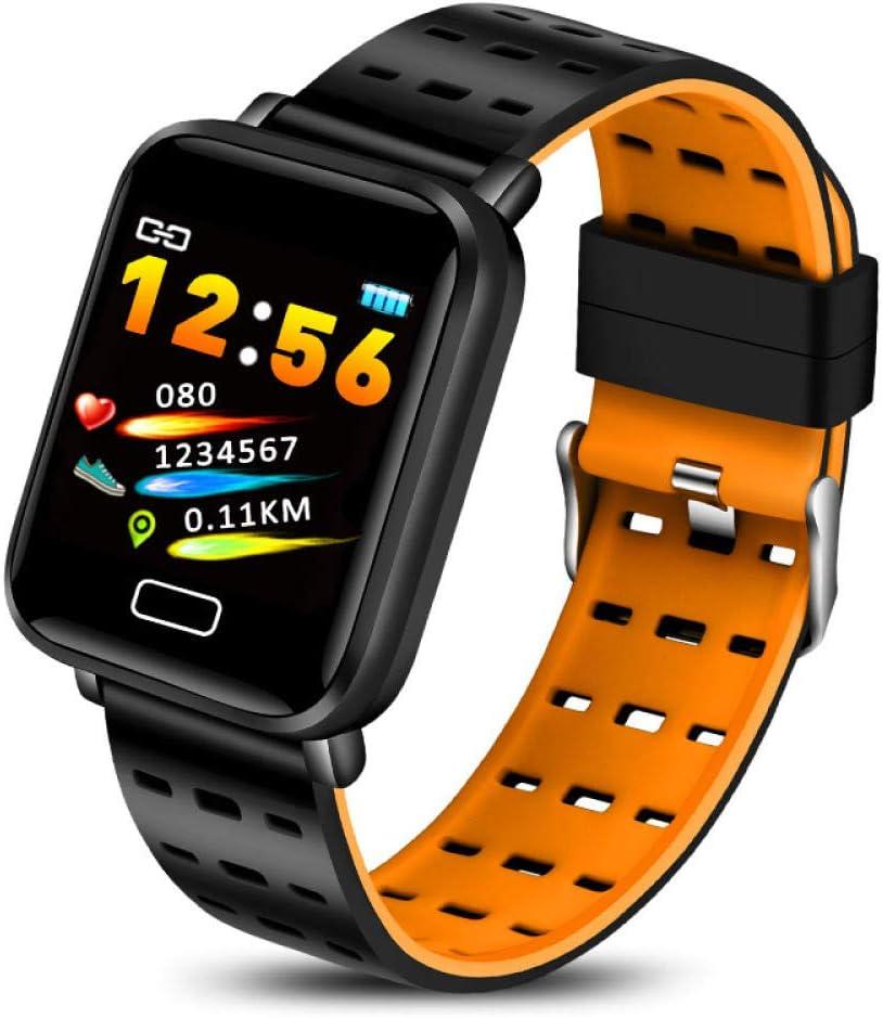 Hombres Smart Sport Pulsera Fitness Tracker Ip67 Impermeable Pulsera Inteligente Monitor de Ritmo cardíaco Podómetro Reloj para Android iOS