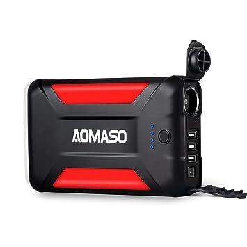 Cargador portátil de 42000 mAh, Batería Externa multipropósito, Power bank Aomaso 5.5A con