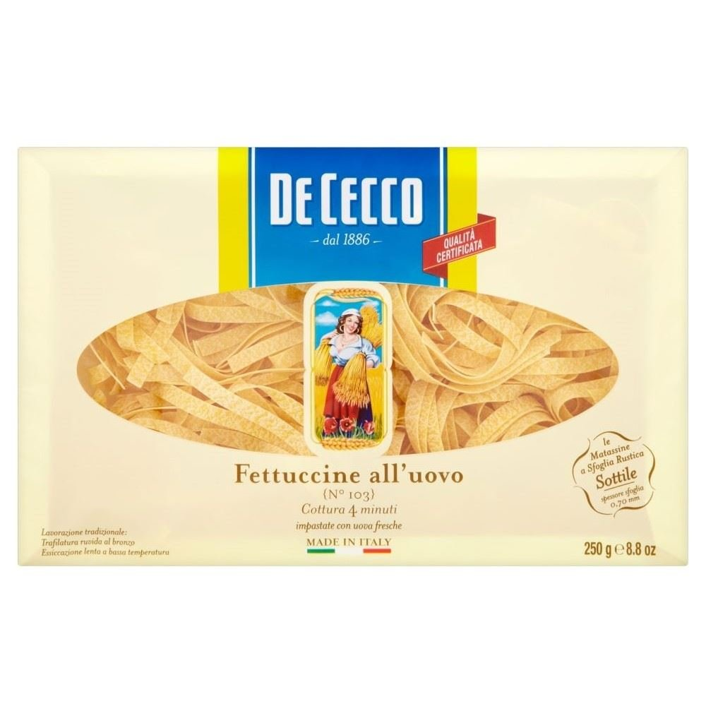 De Cecco Egg Fettuccine (250g) - Pack of 6