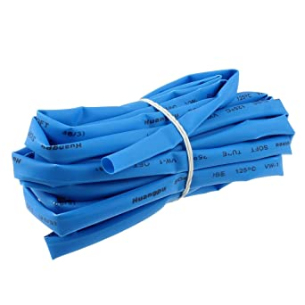 uxcell Ratio 2:1 10mm Dia Heat Shrink Tubing Tube Sleeving Wrap Wire 5Meter