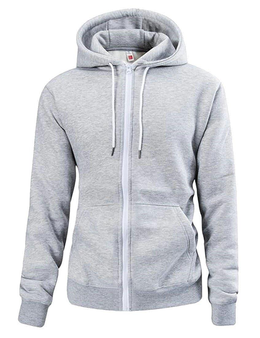 Etecredpow Men Hoodie Outdoor Letter Printed Pullover Fleece Sweatshirts