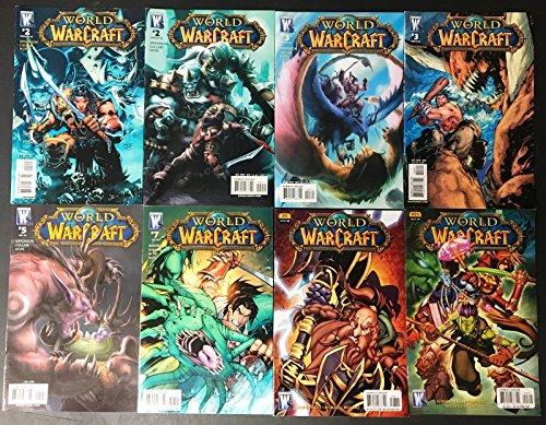 World of Warcraft (2008) 2 3 5 7 8 23 + variants 8 comics total Jim Lee covers
