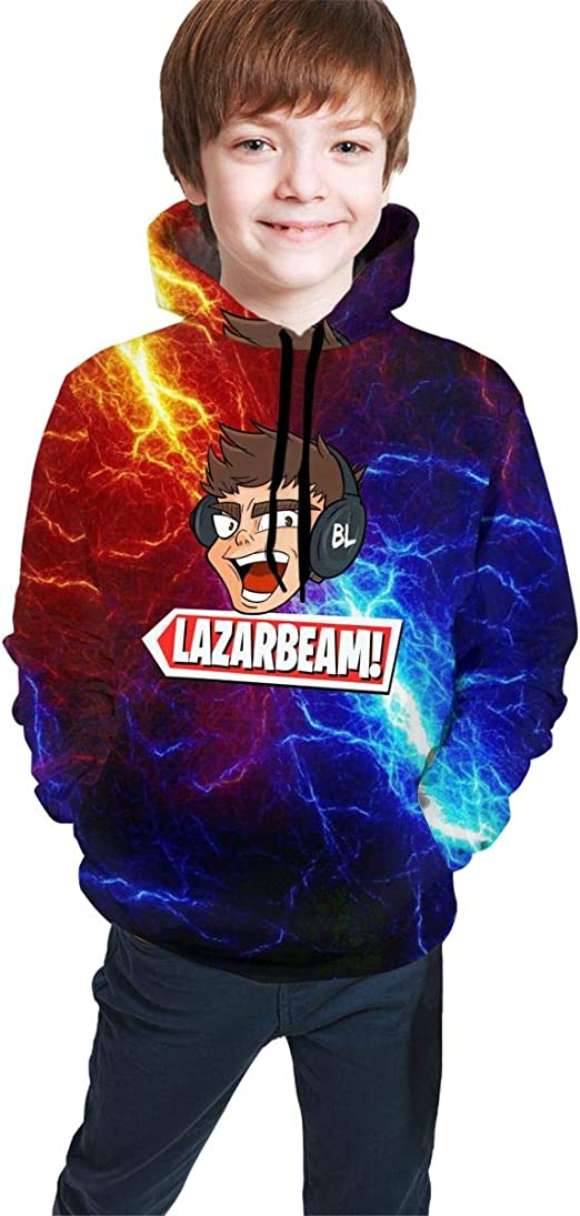 Lazar Beam Kids T-Shirt for Girls and Boys Lazarbeam Kids T-Shirt Gamer