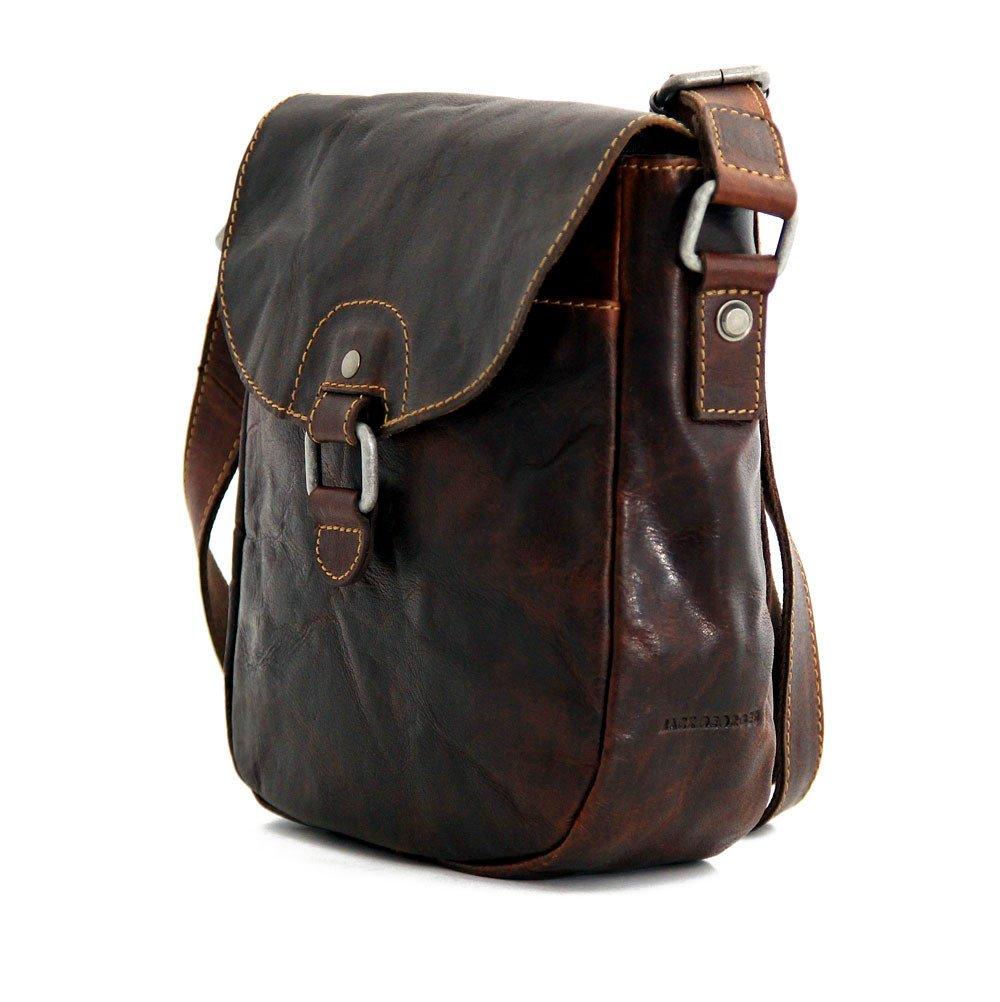 Jack Georges Voyager Horseshoe Crossbody Bag, Leather Shoulder Bag in Brown by Jack Georges (Image #6)