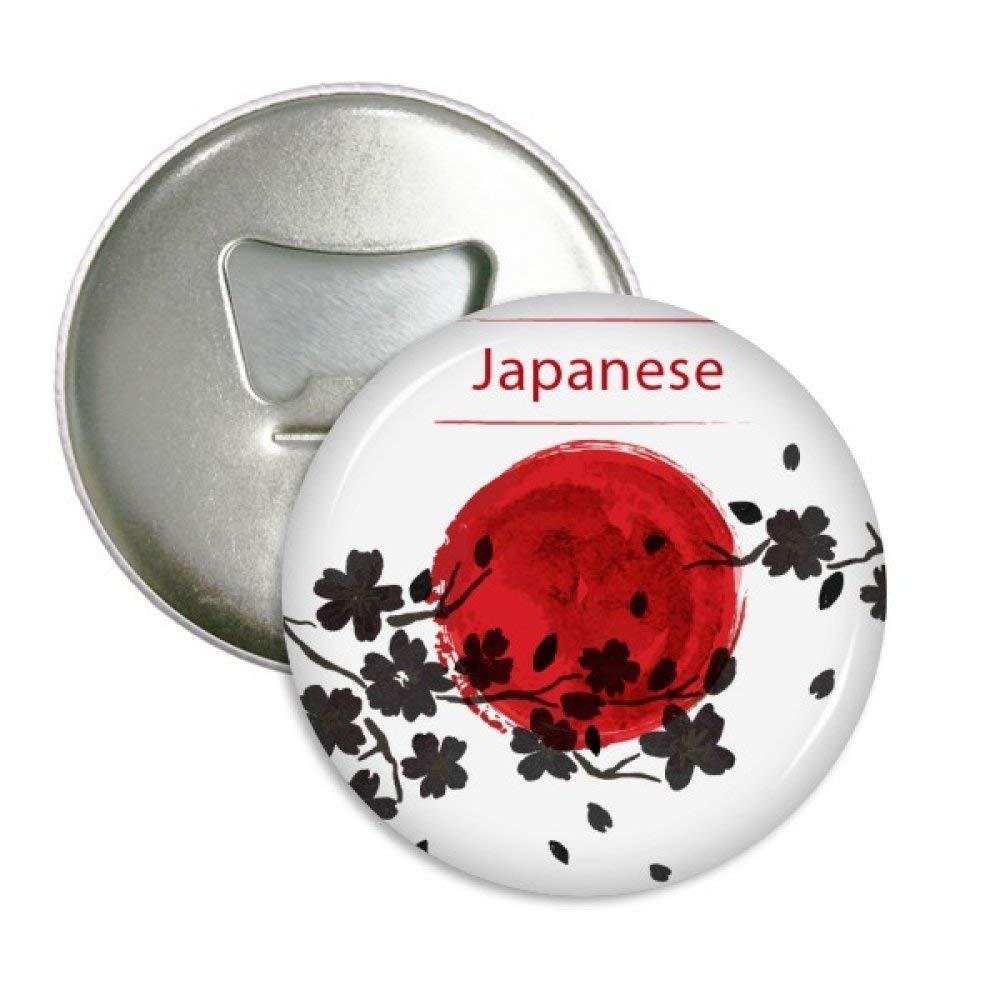 Japón rama Sakura pintura pincel redondo abridor de botellas ...