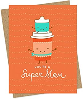 product image for Super Mommy Card by Night Owl Paper Goods