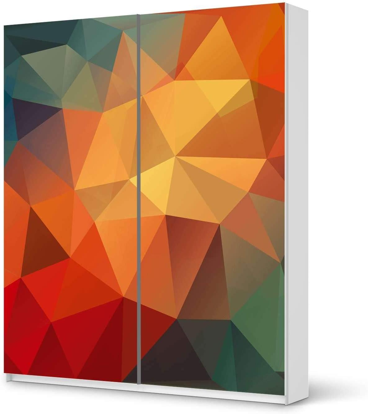 Pegatinas Muebles IKEA Pax Armario 201 cm Altura – Puerta corredera/Diseño Pegatinas Stars/Autoadhesivo Protección: Amazon.es: Hogar