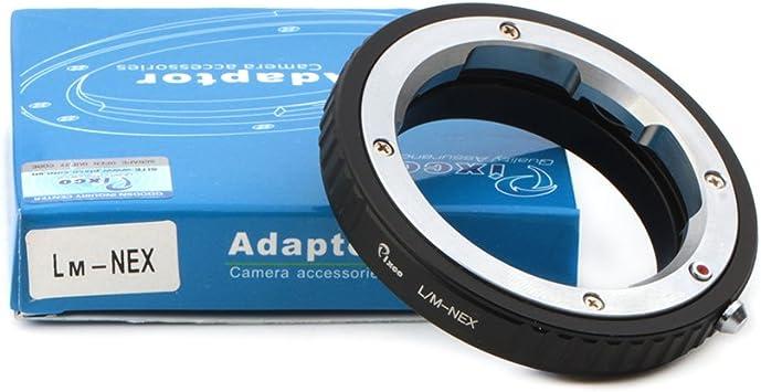 Lens Adapter Suit for Leica M Viso Visoflex Lens to Sony E Mount NEX Camera A6400 A7III A7RIII Alpha a9 Alpha 7R Alpha 7 A6300 A7SII A7II A5100 A6000 A5000 A7R A7 A3000
