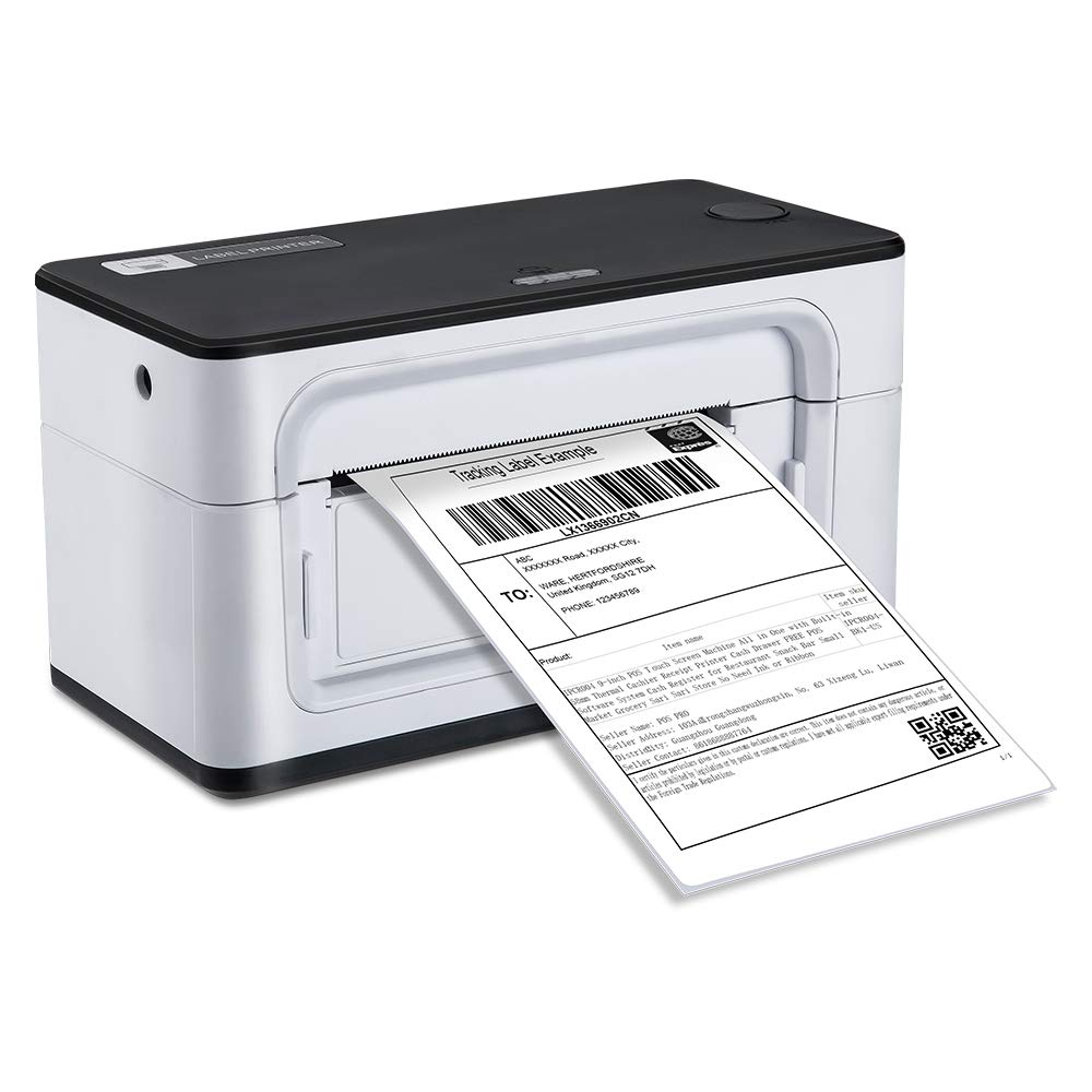 MUNBYN USB Label Printer, 150mm/s High Speed Direct Thermal 4×6 Label Printer Marker, Support Windows Mac System, Commercial Grade Compatible with Amazon, Ebay, Etsy, Shopify