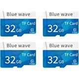 Docooler Memoria ad alta velocità della carta di TF della carta di TF della classe 10 della carta di memoria di capacità di alta velocità per lo smartphone (4pc)