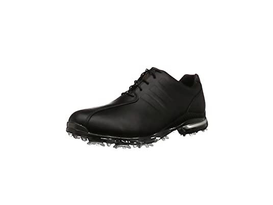 the best attitude 57a30 7a828 adidas Menss Adipure TP Golf Shoes Black CoreBlackDarksilvermetallic, 10  UK 44 ...