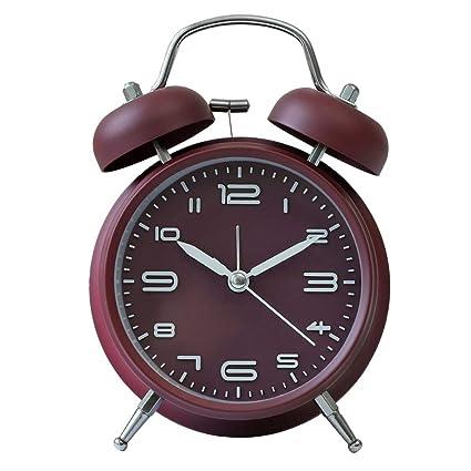 Amazon.com: DDGOD Metal Alarm Clock,Classic Alarm Clocks ...