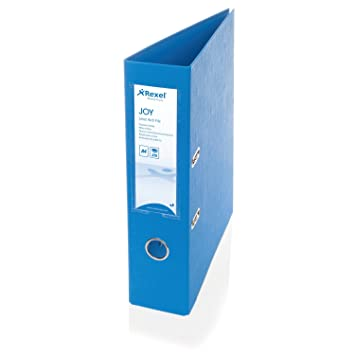 Rexel JOY 75 mm A4 Lever Arch File - Blissful Blue